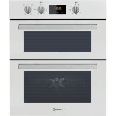 Indesit IDU6340WH Indesit Built Under Double Oven In White