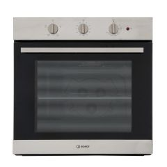 Indesit IFW6230IX Aria Built In Electric Single Oven - Stainless Steel