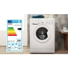 Indesit IWC71252 7Kg 1200 Spin Washer In White