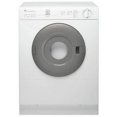 Indesit NIS41V Freestanding Airvented Compact Dryer 4Kg White Timer Dry