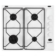 Indesit PAA642IWH Gas Hob In White 60Cm
