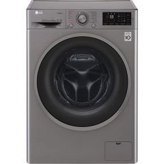 Lg F4J610SS 10Kg 1400 Spin Washer In Silver