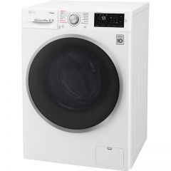 Lg F4J610WS Lg J6 F4j610ws 10Kg Washing Machine With 1400 Rpm - White - A+++ Rated