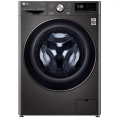 Lg FWV917BTSE V9 Wifi Connected 10.5Kg / 7Kg Washer Dryer With 1400 Rpm - Black / Stainless Steel