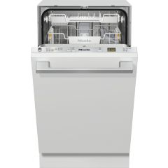 Miele G5481scvi Miele G5481scvi Fully Integrated Slimline Dishwasher - Clean Steel Control Panel