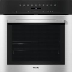 Miele H7162BP Miele Contourline H7162bp Built In Electric Single Oven - Clean Steel - A+ Rated