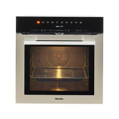 Miele H7164BP Contourline Wifi Connected Built In Electric Single Oven With Added Steam Function - C