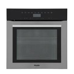 Miele H7364BP Contourline Wifi Connected Built In Electric Single Oven With Added Steam Function - C