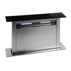 Montpellier DDCH60 Montpellier 60Cm Downdraft Hood In Stainless Steel With 4 Speed Motor