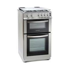 Montpellier MDG500LS Montpellier Silver 50Cm Double Gas Cooker