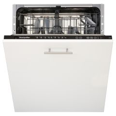 Montpellier MDI700 Fully Integrated 12 Place Setting Dishwasher