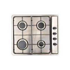 Montpellier MGB60X 4 Zone Gas Hob With Enamel Pan Supports