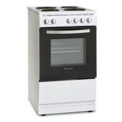 Montpellier MSE46W 50Cm Single Cavity Electric Cooker With Solid Plate Hob With 1 Yrs Warrantee