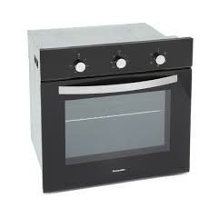 Montpellier SBFO59B Single Electric Oven In Black With Cut Out At Back