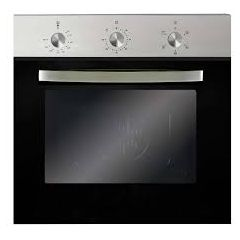 Montpellier SBFO59X Single Electric Oven In Stainless