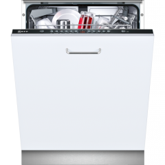 Neff S513G60X0G Fully Integrated 12 Place Black Control Dishwasher
