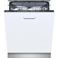 Neff S513K60X1G Neff Fully Integrated 13 Place Setting Dishwasher A++ Energy Rated With Black Top Pa