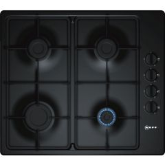 Neff T26BR46S0 60Cm Built In Gas Hob With Side Controls In Black