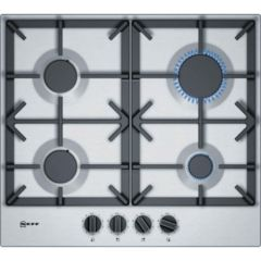 Neff T26DS49N0 582Mm Gas Hob Stainless Steel