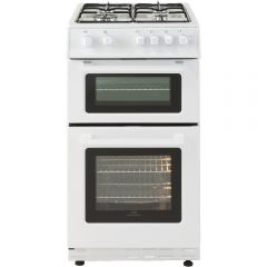 New World NW50GTCWH 444443995 50Cm Gas Twin Cavity In White