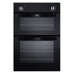 New World NW901DOBLK 444441488 Double Built In Oven In Black
