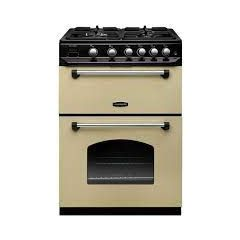 Rangemaster CLA60NGFCR/C Rangemaster Classic 60 Cla60ngfcr/C Gas Cooker With Full Width Electric Gri