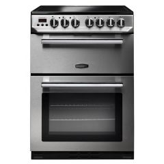 Rangemaster PROPL60ECSS/C Professional Plus Stainless Steel With Chrome Trim Electric Cooker With Do
