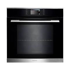 Rangemaster RMB610PBL/SS Single Electric Oven 10 Function Pyrolytic Cleaning