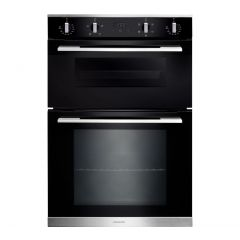 Rangemaster RMB9045BL/SS Built In Double Oven 90Cm 4/5 Functions