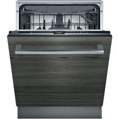 Siemens SN63HX52CG Iq-300 Wifi Connected Fully Integrated Standard Dishwasher Black Control Panel