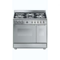 Smeg CG92X9 Smeg Cg92x9 90Cm Dual Fuel Range Cooker - Stainless Steel - A/A Rated