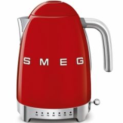 Smeg KLF04RDUK Red 50S Style Variable Kettle