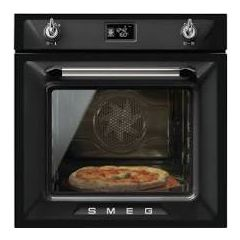 Smeg SF6922NPZE1 Victoria Built In Single Oven In Black