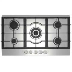 Statesman GH90SS 90Cm 5 Zone Gas Hob Stainless Steel