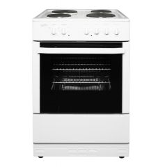 Statesman NAPIER60EW 60Cm Single Cavity Electric Cooker In White
