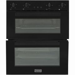 Stoves BI702MFCT Stoves St Bi702mfct Built Under Double Oven - Black - A/A Rated