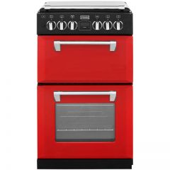 Stoves RICH550DFWHJA 444442900 Stoves Richmond 550 Duel Fuel In Hot Jalapeno Red