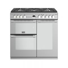 Stoves S/DEL S900GSS 444444936 Stoves Sterling Deluxe 900Mm Gas Range Cooker In Stainless Steel With
