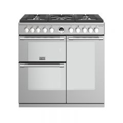 Stoves STER S900DFSS 444444482 Stoves Sterling 90Cm Wide Dual Fuel Cooker In Stainless Steel