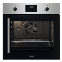 Zanussi ZOCNX3XR Built In Electric Single Oven - Stainless Steel - A Rated