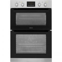 Zanussi ZOD35621XK Built In Electric Double Oven - Stainless Steel - A/A Rated