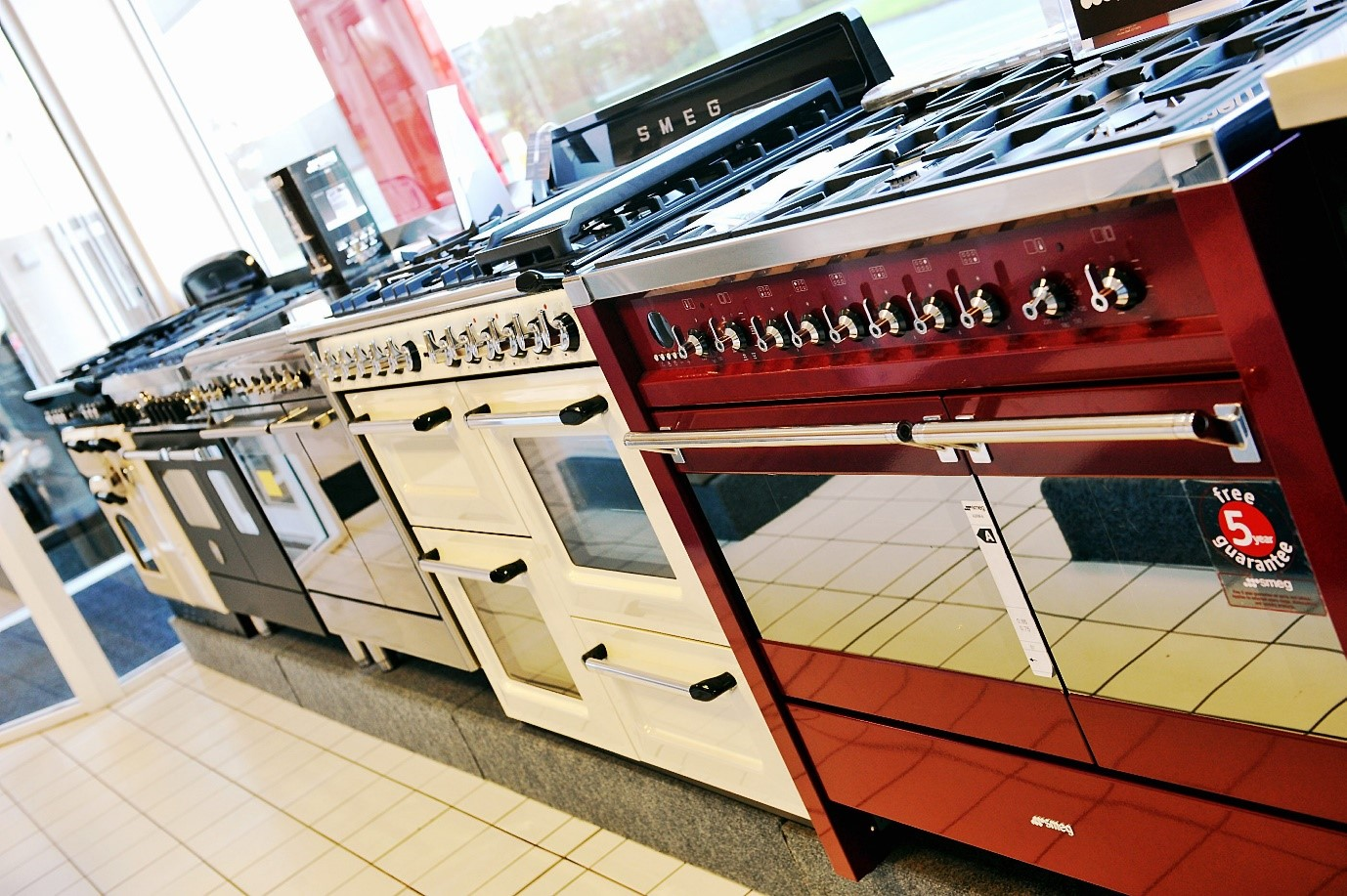 Genesis Shop Display Cookers